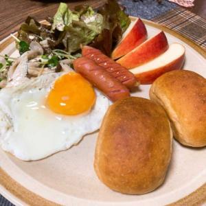 ローソンのブランパンで朝ごはん~
