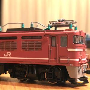 TOMIX EF81形 (初期型・JR貨物更新車) 色入れ