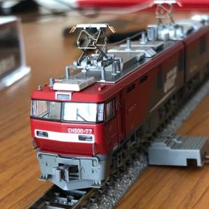 KATO EH500形 全軸集電失敗