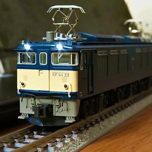 KATO EF64形0番台 2次形の常点灯ライト化