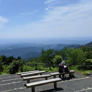 梅雨の晴れ間、御岳山~日の出山~武蔵五日市駅で体力維持