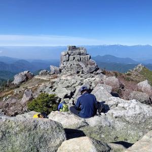 富士見平小屋テント泊 瑞牆山・金峰山