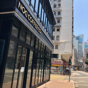香港カフェ☆NOC Coffee Co.で美味しいコーヒーとお洒落サンド