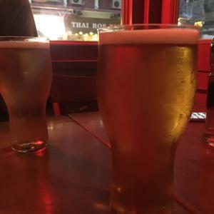 香港クラフトビール・ヤングマスターが飲めるピザ屋さん