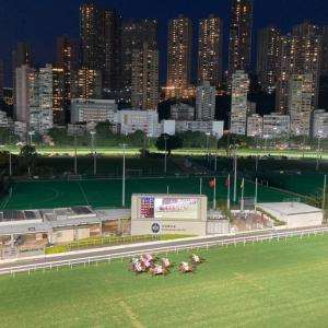 香港ハッピーバレー競馬場で久々のナイトレース観戦