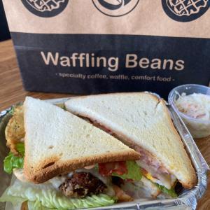 香港で美味しいサンドウィッチを探して「Waffling Beans」