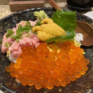 ウニも美味しい丼ランチ「うまい鮨勘」@尖沙咀