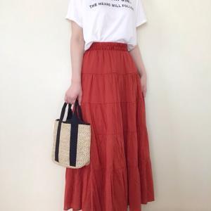 【nico and…】お買い得だったスカートでコーデ♪