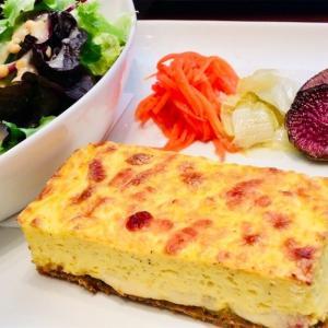 """【日本橋】『カフェ エメ・ヴィベール』のキッシュが""""ふるふる""""で美味しかったです!"""