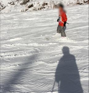 初スキー 初遭難しかけ・・・