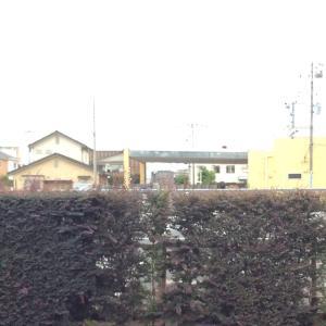 仕事場から見えていた富士山が…