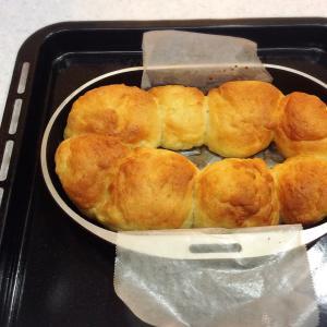 今日はスイカの日~ちぎりパンを焼きました~