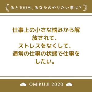 残り100日の運勢~