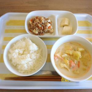 今日の給食と 3時のおやつと おうちごはん~ウエルシアのポイントでgetした物~