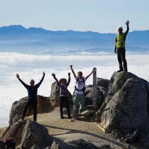 南駒ヶ岳から空木岳へ