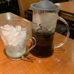 カフェインレスのアイスコーヒー