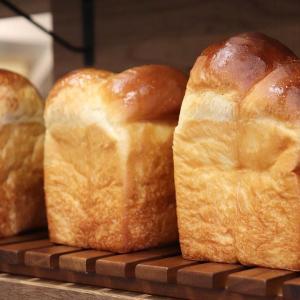 食パンは、午前と午後の2回(9時半、13時半~14時)焼かせて頂いています(2020.04.02)