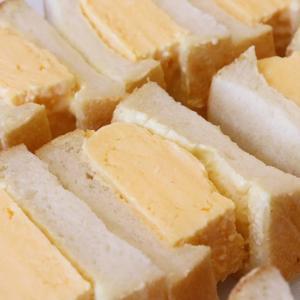 「特製卵サンド」他、バゲットサンド・サンドウィッチ類は10:00~10:30頃からお出し致します(2020.08.09)