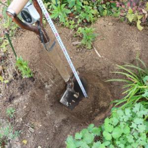 穴を掘る人