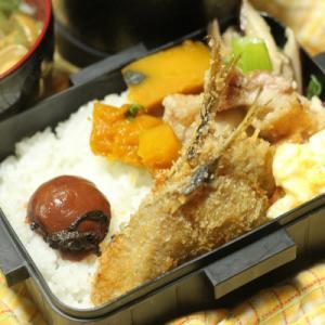 定番の鮭弁