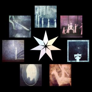 ルビーさんのヘリオサビアンで計算した七芒星は、魂の解放を表現?