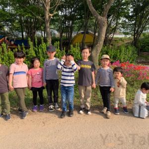 お友達とバーベキュー광명 구름마을 캠핑앤바베큐