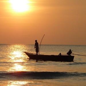 9歳長男と釣り