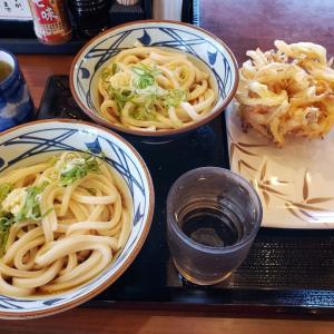 丸亀製麺で夕食