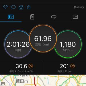 8/29   江戸川CR60km   江戸川サイクリングロードの落車要注意ポイント