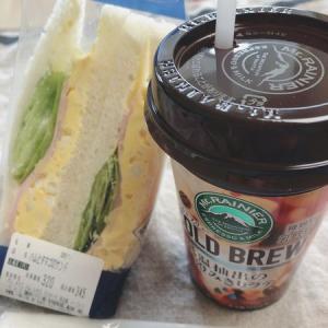 土曜日のサンドイッチ
