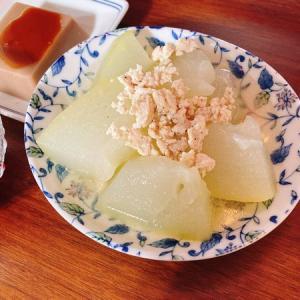 冬瓜を炊いたりお寿司を食べたりした休日
