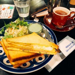 松江駅近辺に泊まったら、朝食は服部珈琲工房のモーニングを