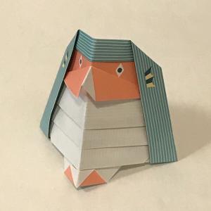 折り紙でアマビエ(1)