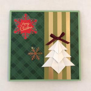 クリスマスツリーのカード(3)
