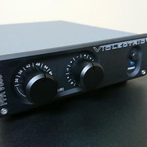 ViolectricのPPA V600フォノイコライザー