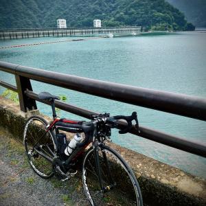多摩川往復 178km