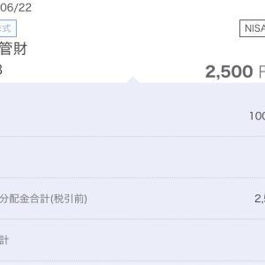 2020年6月日本管財(9728)配当の記録