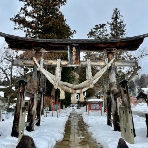雪の長床 新宮熊野大社
