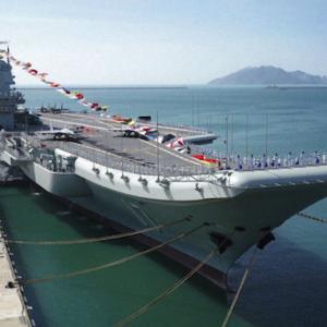 海外 「日本帝国海軍は米国と同レベルにあったが」中国の国産空母が試験航行を実施