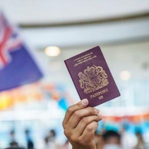 海外 ジョンソン英首相、香港市民300万人に市民権