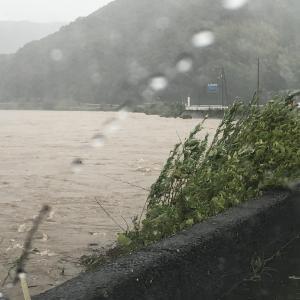 台風10号の水害!?