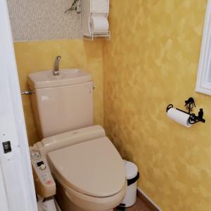全公開!【トイレリフォーム⑥】完成!トイレ、小物・壁紙使った品番全掲載します