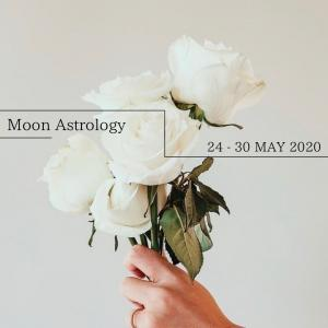 来週の月もよう。月は双子座から乙女座を運行【乙女座で上弦の月】
