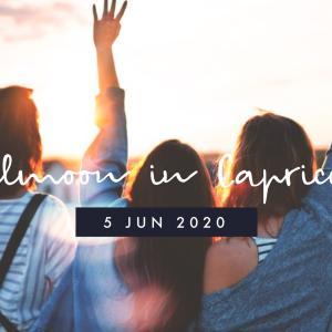 2020年7月5日山羊座満月。思い込みを捨て新たな未来へ向けて前進する