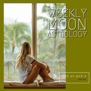 来週の月もよう。200927-1003*月は水瓶座〜牡羊座を運行【牡羊座で満月】