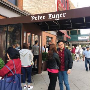 ニューヨーク旅行 3日目 ピータールガーステーキハウス