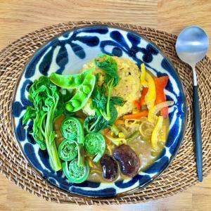 山菜カレー