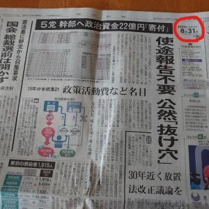 最後の宅配新聞