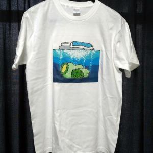 Tシャツにしてみました♪