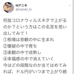 雇用統計直前のドル円をレポート!!